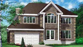 Traditional House Plan 49205 Elevation