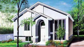 Contemporary House Plan 49216 Elevation
