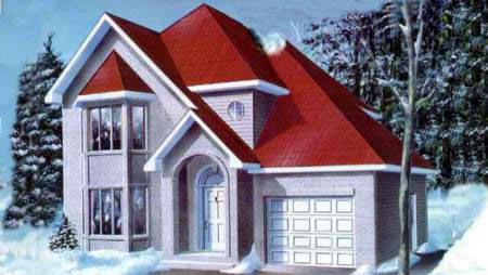 Tudor House Plan 49217 Elevation