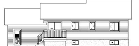 Traditional House Plan 49222 Rear Elevation