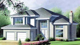 Contemporary House Plan 49225 Elevation