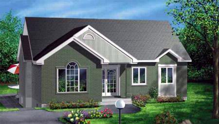 Traditional House Plan 49228 Elevation