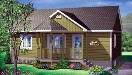 House Plan 49233 Elevation