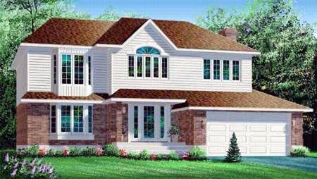 Craftsman House Plan 49239 Elevation