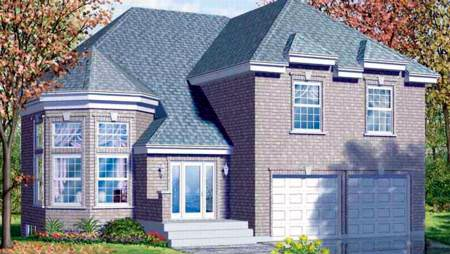 Victorian House Plan 49240 Elevation