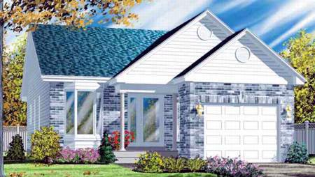 Ranch House Plan 49245 Elevation