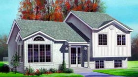 Contemporary House Plan 49247 Elevation
