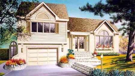 Colonial House Plan 49252 Elevation