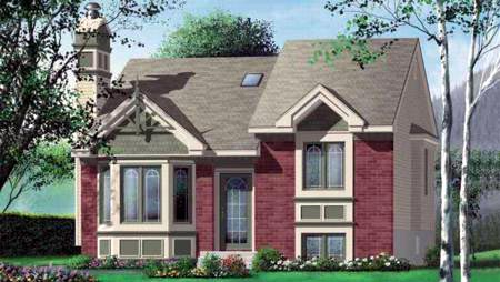 Craftsman House Plan 49257 Elevation