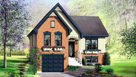 House Plan 49260 Elevation