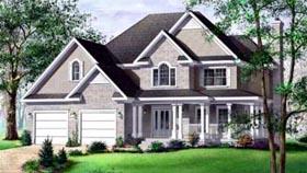 Tudor House Plan 49261 Elevation
