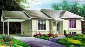 Ranch House Plan 49263 Elevation