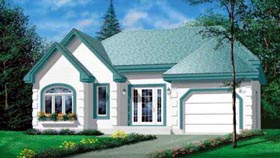 Traditional House Plan 49264 Elevation