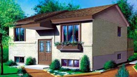 Contemporary House Plan 49271 Elevation
