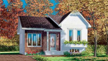 Craftsman House Plan 49275 Elevation