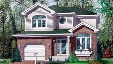 Traditional House Plan 49276 Elevation
