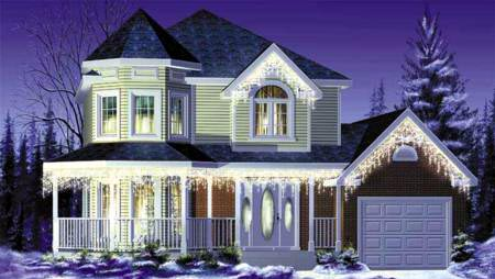 Victorian House Plan 49279 Elevation