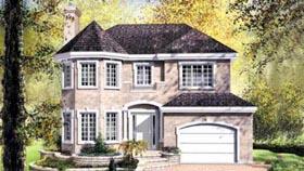 Victorian House Plan 49280 Elevation
