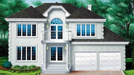 Contemporary House Plan 49283 Elevation