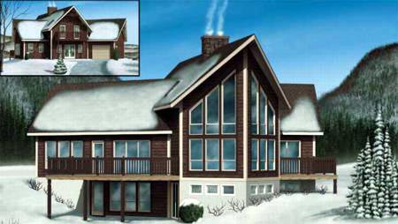 Farmhouse House Plan 49284 Elevation