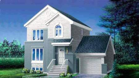 Contemporary House Plan 49286 Elevation