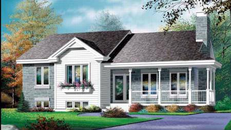 Country House Plan 49290 Elevation