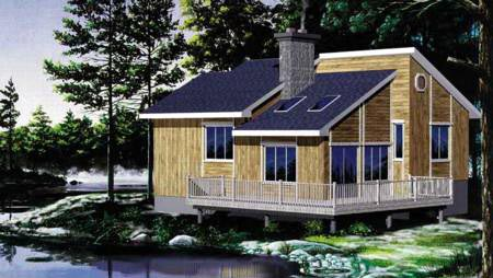 House Plan 49291 Elevation