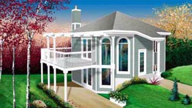 Contemporary House Plan 49292 Elevation