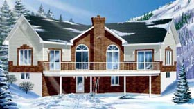 Traditional House Plan 49298 Elevation