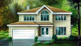 Traditional House Plan 49300 Elevation
