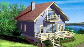 Traditional House Plan 49310 Elevation