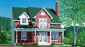House Plan 49313 Elevation