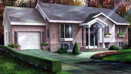 Colonial House Plan 49317 Elevation
