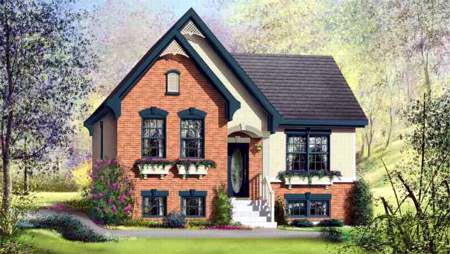 House Plan 49320 Elevation