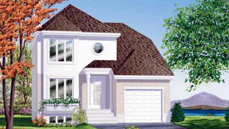 House Plan 49323 Elevation