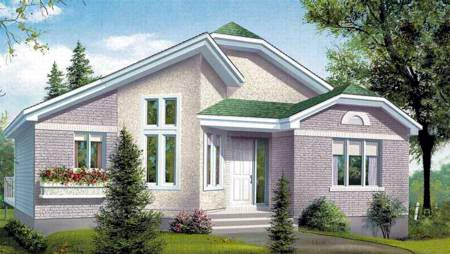 House Plan 49324 Elevation