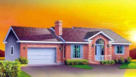 Ranch House Plan 49329 Elevation