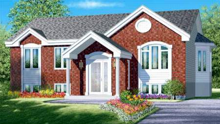 Colonial House Plan 49331 Elevation