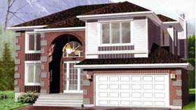 House Plan 49342 Elevation