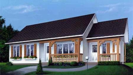 House Plan 49344 Elevation