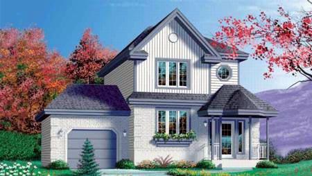 Craftsman House Plan 49348 Elevation