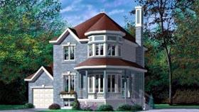 Victorian House Plan 49349 Elevation