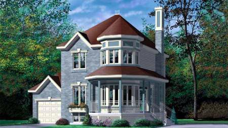 Victorian House Plan 49349 Elevation