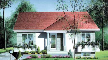 House Plan 49350 Elevation
