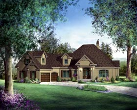House Plan 49352 Elevation