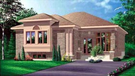 Contemporary House Plan 49353 Elevation