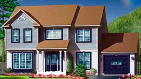 Traditional House Plan 49355 Elevation