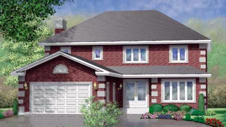 Traditional House Plan 49356 Elevation
