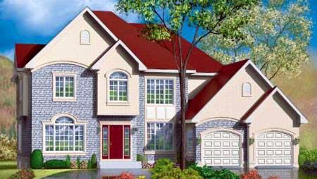 Tudor House Plan 49357 Elevation