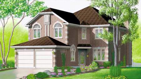 Tudor House Plan 49358 Elevation